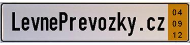 Levné převozní značky